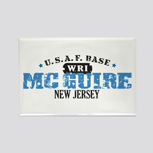 McGuire Air Force Base Rectangle Magnet