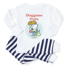 Doggone Cute Odie Baby Toddler Pajamas