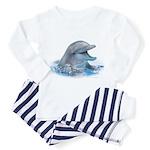 Happy Dolphin Toddler Pajamas
