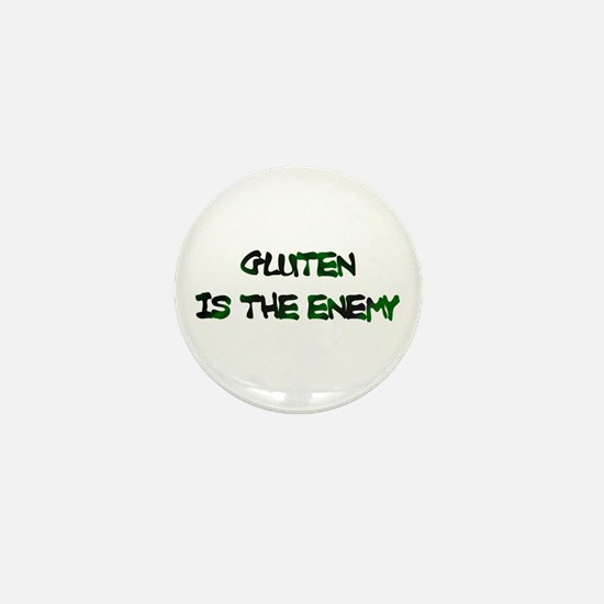 GLUTEN IS THE ENEMY Mini Button