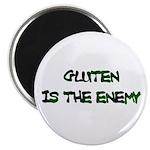 GLUTEN IS THE ENEMY Magnet