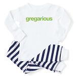 gregarious (sociable) Toddler Pajamas