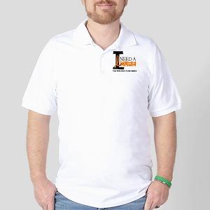 I Need A Cure MS Golf Shirt