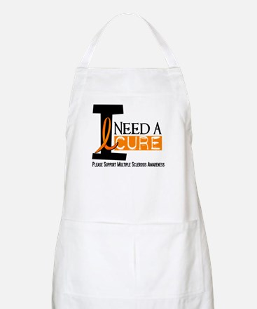 I Need A Cure MS BBQ Apron