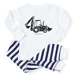 Backhoe Toddler Pajamas