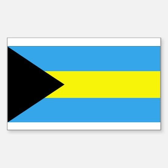 Bahamas Rectangle Decal