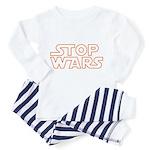 Stop Wars Toddler Pajamas