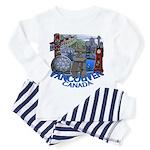 Vancouver Canada Souvenir Toddler Pajamas