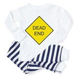 Dead End Sign Toddler Pajamas