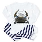 Space Crabs Toddler Pajamas