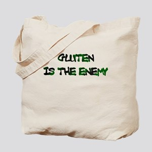 GLUTEN IS THE ENEMY Tote Bag