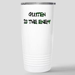 GLUTEN IS THE ENEMY Travel Mug