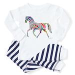My Rainbow Horse Toddler Pajamas