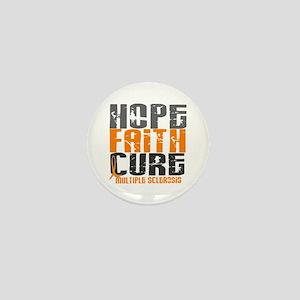 HOPE FAITH CURE MS Mini Button