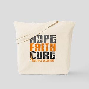 HOPE FAITH CURE MS Tote Bag