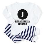 J Church (Classic) Toddler Pajamas