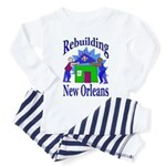 Rebuilding New Orleans Toddler Pajamas