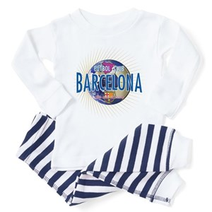 389c9e78865 Barcelona Fc Toddler Pajamas - CafePress