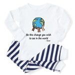 Be the Change Toddler Pajamas