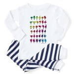 RBW Fingerspelled ABC Toddler Pajamas