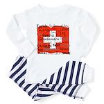 Swiss Cantons Flag Toddler Pajamas