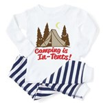 Camping Is In-Tents Toddler Pajamas