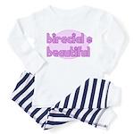 biracial & beautiful Toddler Pajamas