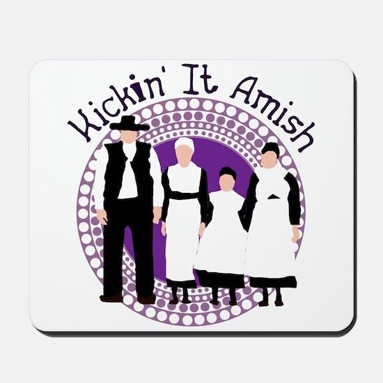 Riyah-Li Designs Kickin' It Amish Mousepad