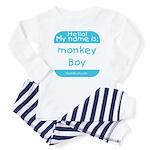 Hello my name is MONKEY BOY Toddler Tee