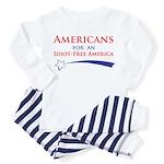 Idiot Free America Toddler Pajamas