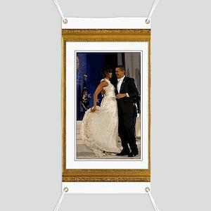 Obamas at the Inaugural Ball Banner