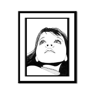 """WONDER"" Framed Panel Print"