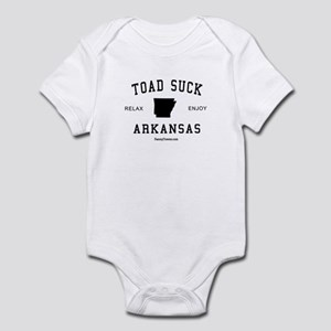 Toad Suck (AR) Arkansas Tees Infant Bodysuit