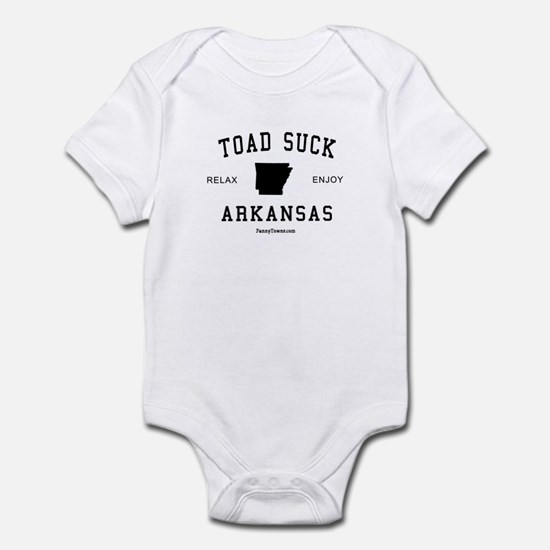 Toad Suck (AR) Arkansas Tees Infant Bodysuit