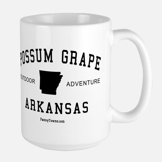 Possum Grape (AR) Arkansas Te Large Mug