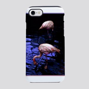 Pink Flamingos iPhone 7 Tough Case