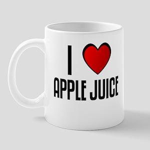I LOVE APPLE JUICE Mug