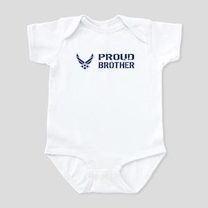 USAF: Proud Brother Infant Bodysuit