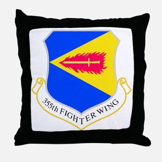 355th Throw Pillow