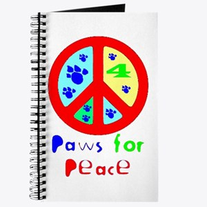 Paws for Peace Red Journal