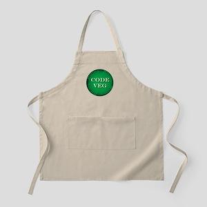 Code Veg BBQ Apron