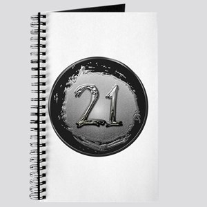 Cool 21st Birthday Journal