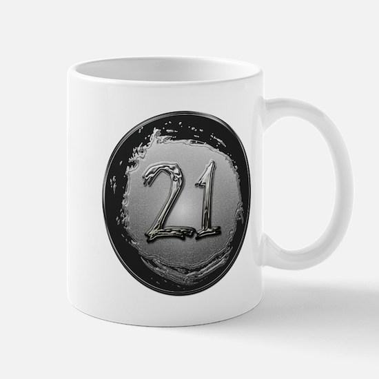 Cool 21st Birthday Mug