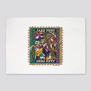 Jazz Fest 5'x7'Area Rug
