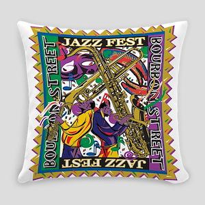 Jazz Fest Everyday Pillow