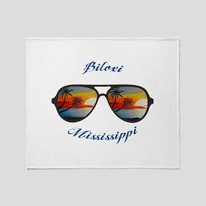 Mississippi - Biloxi Throw Blanket