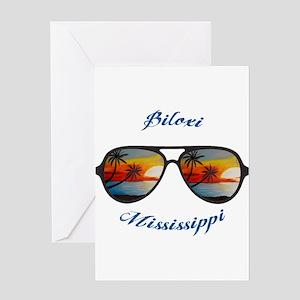 Mississippi - Biloxi Greeting Cards