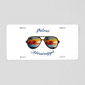 Mississippi - Biloxi Aluminum License Plate