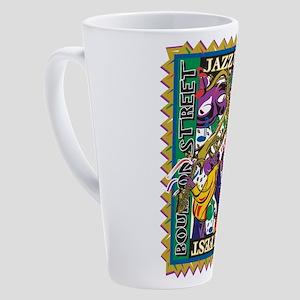Jazz Fest 17 oz Latte Mug