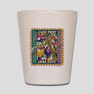 Jazz Fest Shot Glass